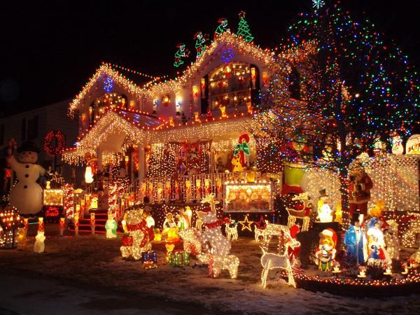 Best holiday destinations for christmas - Christmas house lights ideas ...