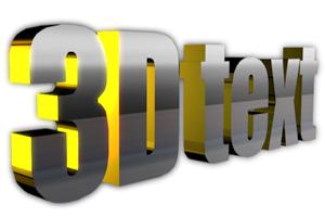 Create 3D Text Effect Using Online 3D Text Effect Generator Tool