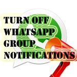 How to Disable WhatsApp Group Notifications in Status bar and Notification menu