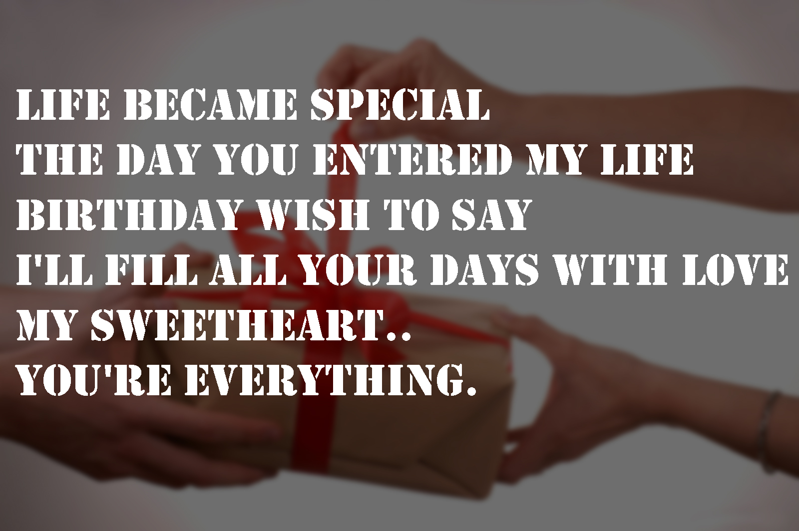 Love Quotes For My Boyfriend Birthday Quotes For Girlfriend From Boyfriend Happy Birthday Baby