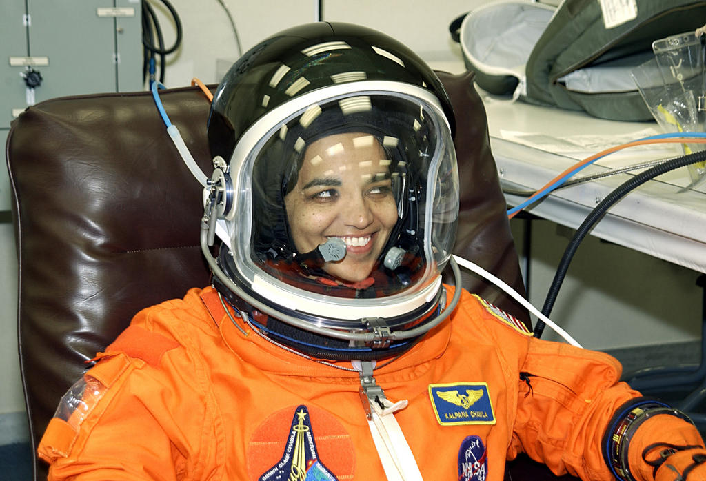 kalpana chawla in space Kalpana chawla was an american astronaut and the first woman of indian origin  in space she first flew on space shuttle columbia in 1997 as.