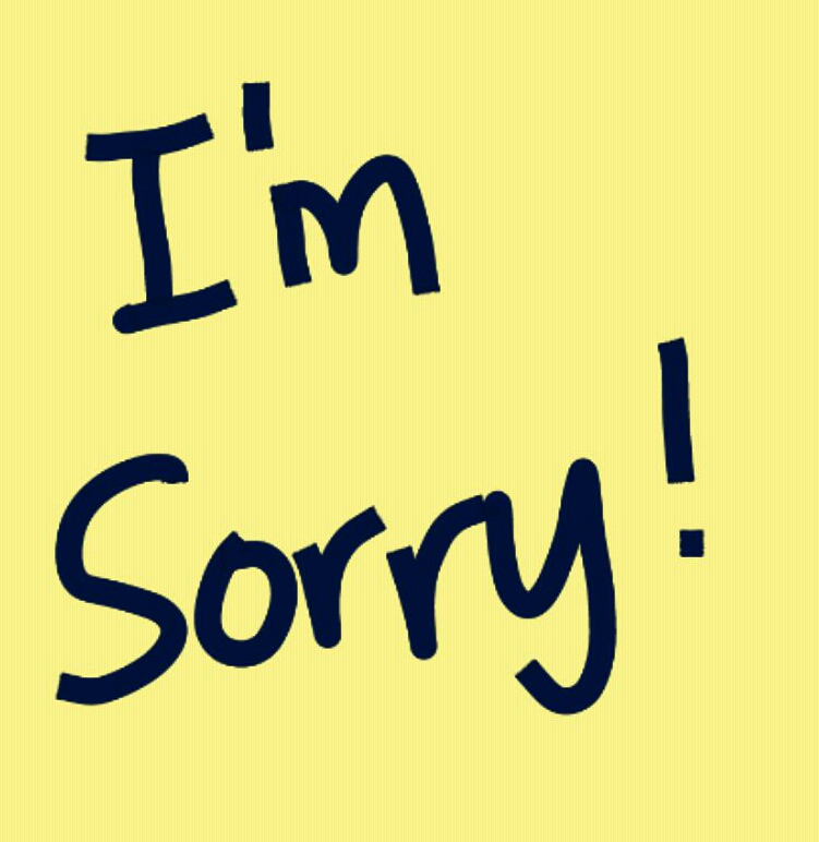 How To Say Quot I M Sorry Quot If You Made A Mistake